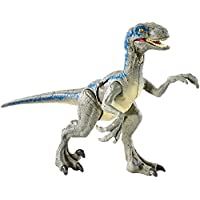 Jurassic World - Velociraptor Blue, Dinosaurio de Juguete, (Mattel FNB33)