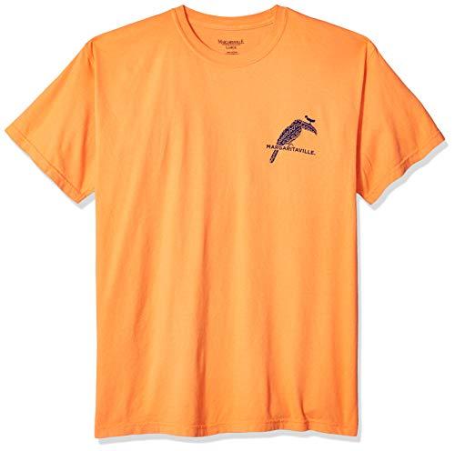 Margaritaville Herren Toucan Bill Graphic Short Sleeve T-Shirt, Burnt orange, 3X-Groß - Burnt Orange T-shirt