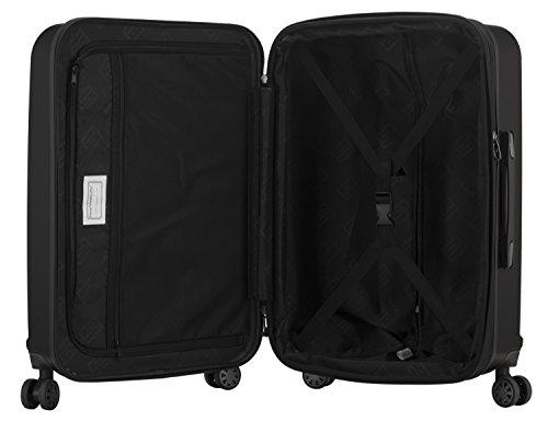 HAUPTSTADTKOFFER - X-Berg - Handgepäck Koffer Trolley Hartschalenkoffer, TSA, 55 cm, 42 Liter, Graphite - 4