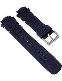 Calypso Watches Ersatzband Uhrenarmband Kunststoff Band für alle Modelle K5560, Farbe:dunkelblau