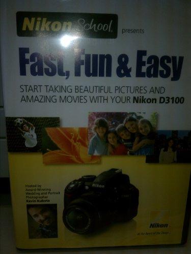 Nikon DVD Fast, Fun & Easy for D3100 Nikon Dvd