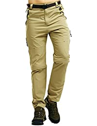 Zhhlaixing ropa de deporte Mens Summer Thin Comfortable Waterproof Quick-dry Shorts Convertible Trousers