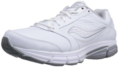 Saucony , Herren Walkingschuhe Blanco/Plateado