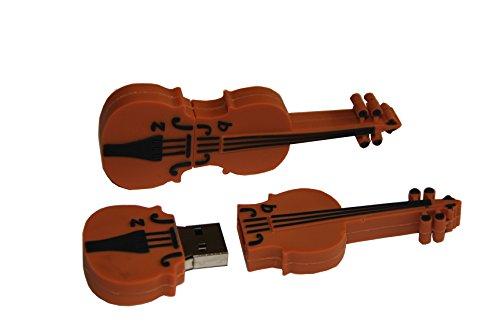 Tomax - chiavetta usb a forma di violino, 8 gb