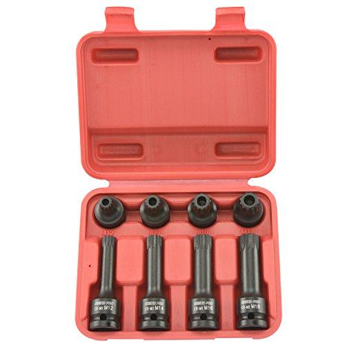 Neiko Pro® 10283B 1/5,1cm Drive Xzn Triple