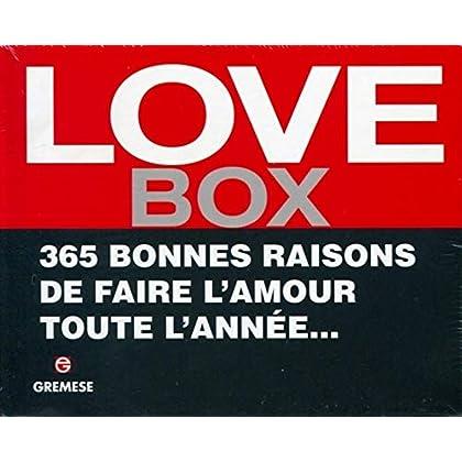 Love Box: 365 bonnes raisons de faire l'amour toute l'année...