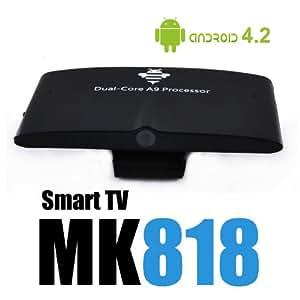 Android Smart TV avec webcam intégrée MK818 Google TV box XBMC