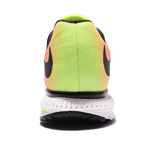 Nike Wmns Zoom Winflo 3 Oc, Chaussures de Running Entrainement Fille Noir / Multicolore
