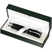 Monteverde–Penna stilografica/penna a sfera con finiture cromate, colore: