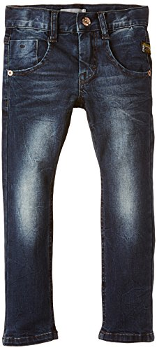 NAME IT Jungen Jeanshose NITRAS MEDIUM K XSL/XSL DNM PANT NOOS, Gr. 110, Blau (Dark Blue Denim)