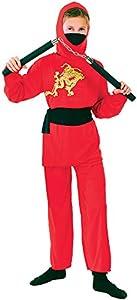 """Bristol Novelty CC977 Traje infantil de""""Ninja"""" (Pequeño), Edad aprox 3-5 años"""