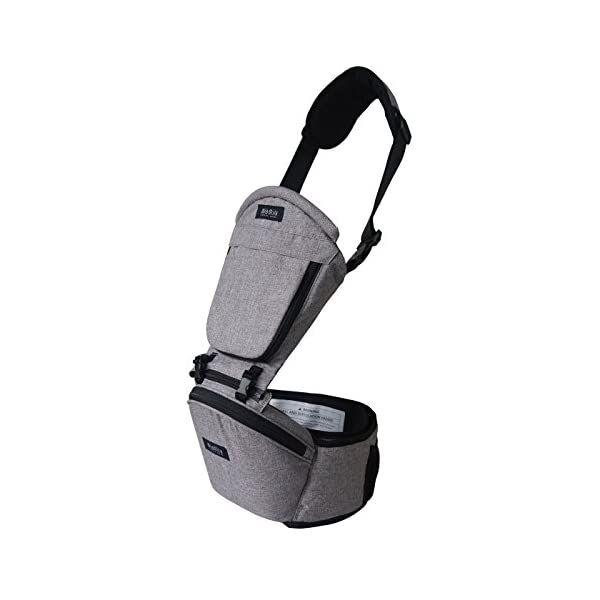 MiaMily HipsterTM Single Shoulder Accessory - New Stone Grey MiaMily Upgrade your Miamily HIPSTER PLUS with our Single Shoulder Attachment and get a total of 9 ways to carry your baby. Recommended age - 8 months to 48 months or 44lbs (20 kg) Machine washable 2
