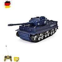 RC Mini tanque Tiger I/German. con balas de y función de sonido. Armadura + Sensor para de golpe + Ready to de Drive.