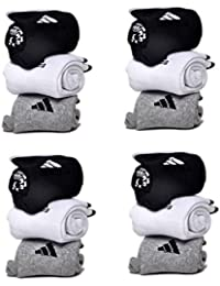 Sports Ankle Length Cotton Towel Socks Pack Of 12 Pairs Socks With AD Logo