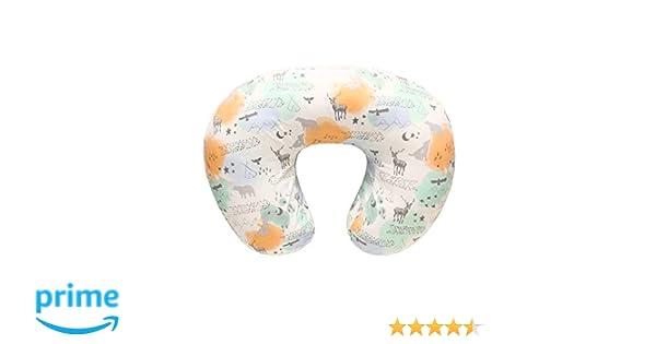 fodera per cuscino allattamento al seno in cotone naturale al 100/% Fodera per cuscino infermieristica per neonati morbidissima e morbida sul cuscino per allattamento