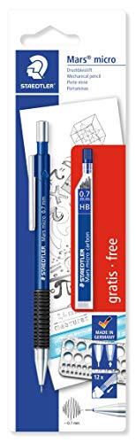Staedtler Mars Micro 775 0.7mm Mechanical Pencil with 1 Lead Tube