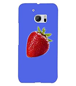 HTC ONE M10 STRAWBERRY Back Cover by PRINTSWAG