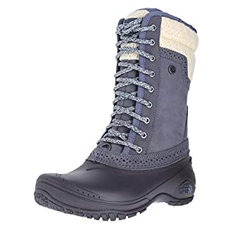 THE NORTH FACE Womens Shellista II Leather Round Toe Mid-Calf Cold Weather Bo.