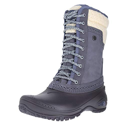The North Face Women's Shellista II Tall Smoked Pearl Grey/Nostalgia Rose (Prior Season) 10.5 B US North Face Pearl