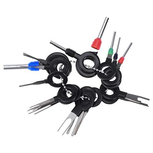 uto Auto Stecker Platine Kabelbaum Terminal Extractor Picks Stecker Crimp Pin Nadel Entfernen Werkzeuge ()