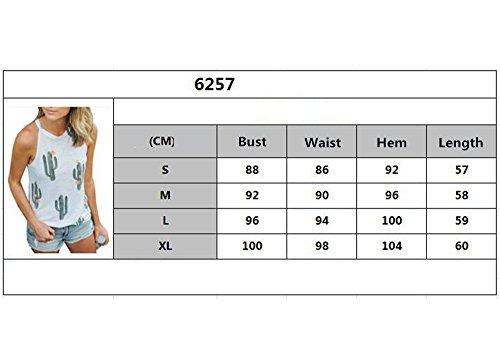 Hibote Femme Choker T-Shirts Manches Longues Chemisier Col V Chemise Blanc