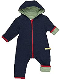 loud + proud Unisex Baby Strampler Wendeoverall Strick