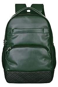 F Gear Luxur Olive Green 23 Liter Laptop Backpack (3110)
