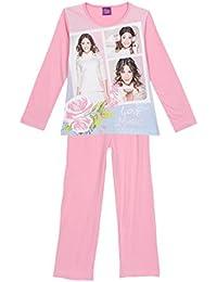 Pyjama long enfant fille Violetta Rose de 6 à 12ans