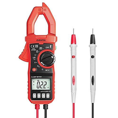 Dc Digital-multimeter (Digital Multimeter Clamp Meter, Eventek ET820 Strommesszange Spannungsprüfer für AC / DC, AC-Strom, Spannung, Widerstand,Kontinuität)
