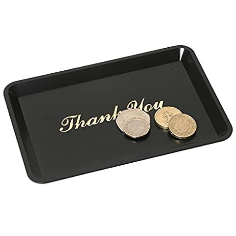 Genware 3022-03 'Thank You' Tip Tray, 4 1/2