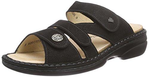 Soft Comfort Schuhe (Finn Comfort Ventura-Soft, Damen Offene Sandalen, Schwarz (Schwarz), 39 EU)