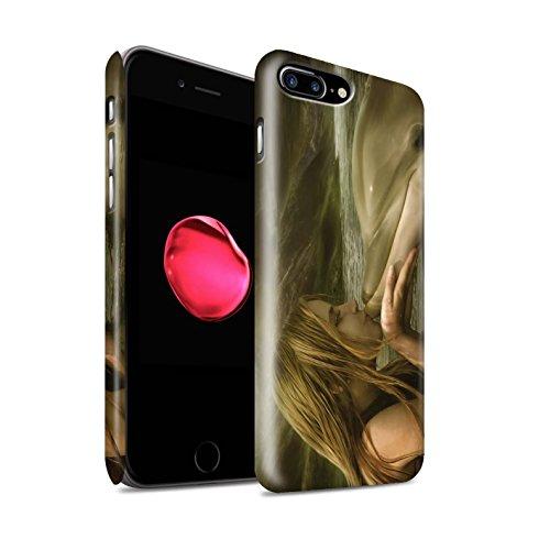 Offiziell Elena Dudina Hülle / Matte Snap-On Case für Apple iPhone 8 Plus / Pack 7pcs Muster / Agua de Vida Kollektion Sonrisas/Delphin