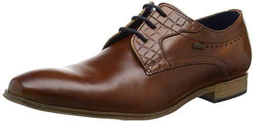 bugatti-311252022100-zapatos-de-cordones-derby-para-hombre-marrn-cognac-6300-43-eu