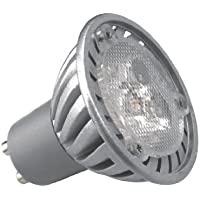 KOSNIC GU10 5w LED 80 DEGREE BEAM ANGLE WARM WHITE/830/3000K DIRECT GU10 HALOGEN REPLACEMENT 5W=45W LED LIGHT FROSTED COVER SMD LED LAMP