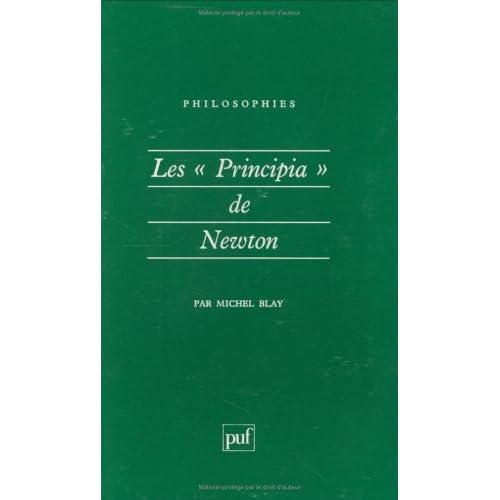 Les 'Principia' de Newton