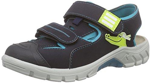 Ricosta Korsar, Jungen Geschlossene Sandalen, Blau (see/wasser 132), 35 EU (2.5 Kinder UK) (Sandalen Jungen Wasser)