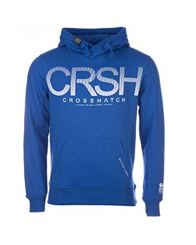 Crosshatch -  Felpa con cappuccio  - Uomo Mazarine blue