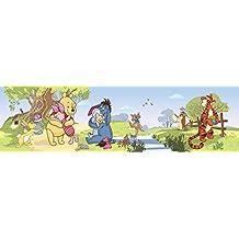 AG Diseño wbd 8080Disney Winnie The Pooh, cenefa adhesiva, 0,10x 5m–1rollo, papel, Colorful, 500x 10cm