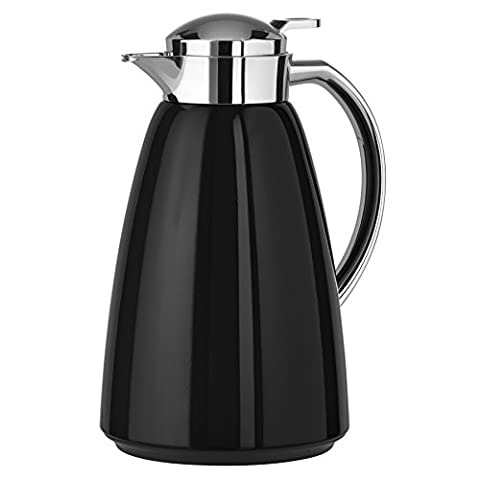 Emsa campo 516527 Thermos CAN 1 L - 100% Leak-Proof, Quick Tip clasp Standard 12 / 24, Hot Cold