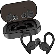 Auriculares Bluetooth Inalámbricos iPX7 Impermeable con Doble Ganchos para el Deporte Estéreo in Ear Bluetooth 5.0