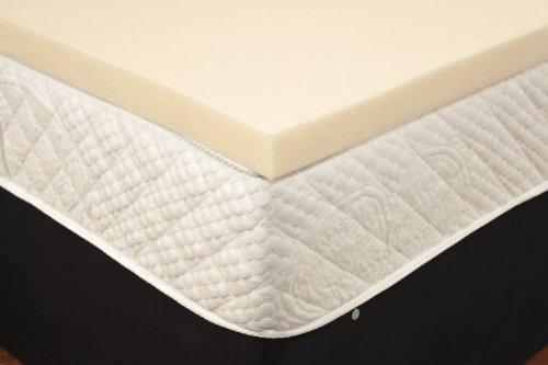 Premium Memory Foam Topper 25Serie (2,5cm)–2,5cm Zoll, mittlere Dichte, Einzelbett