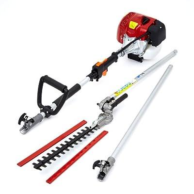 Trueshopping® Professional Heavy Duty Petrol Long Reach Pole Hedge Trimmer Cutter Garden Branch Cutter