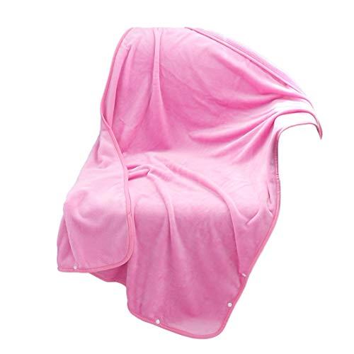 Happy Event Lady Multifunktions Softable Blanket Schal Wrap Schal Winter warm (H) (König Bio-baumwolle Decke)