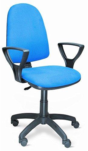 Poltrona sedia da ufficio girevole per scrivania con for Sedia da ufficio amazon