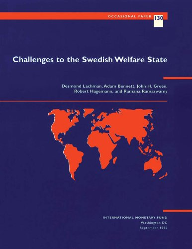 Challenges to the Swedish Welfare State (Occasional Paper (Intl Monetary Fund))