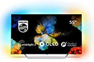 Philips Ambilight 55POS9002/12 Televizyon, 139 cm (55 İnç) Oled TV (4K, Akıllı TV, HDR Perfect, Android TV, Go