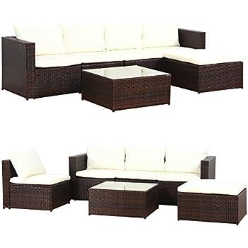 xinro 19tlg xxxl polyrattan gartenm bel lounge sofa g nstig lounge m bel lounge set. Black Bedroom Furniture Sets. Home Design Ideas