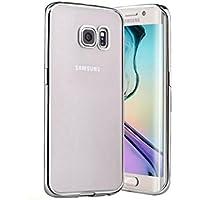 Plata Slim Claro híbrido cubierta caso Para Samsung Galaxy S8