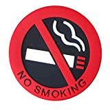 Auto-adhésif Non-Fumeur Logo Cigare de Voiture Autocollant Station Avertissement...