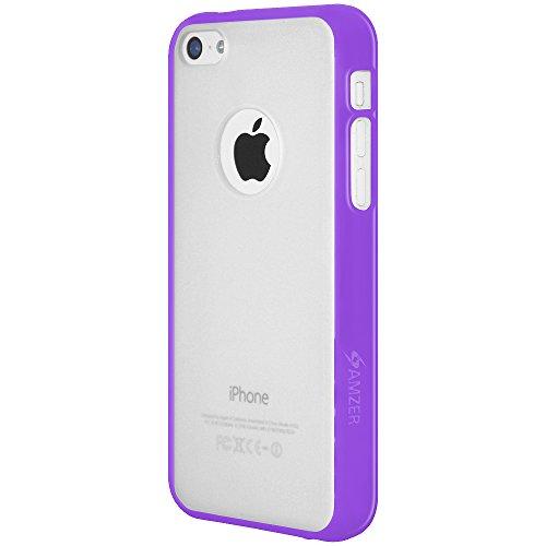 Amzer SlimGrip Coque hybride Coque arrière pour Apple iPhone 5C